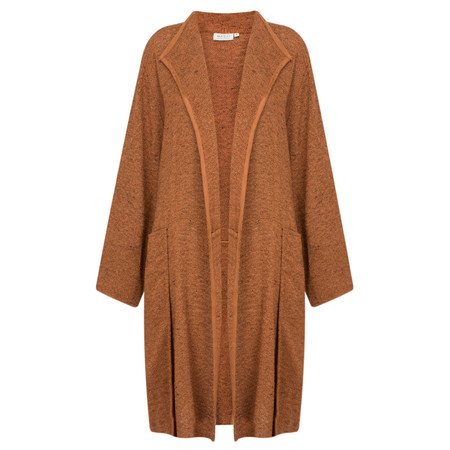 Masai Clothing Long Woven Juna Jacket - Bronze