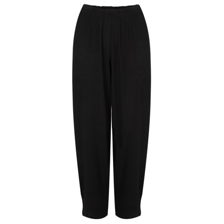 Masai Clothing Patti Wide Cropped Culottes - Black