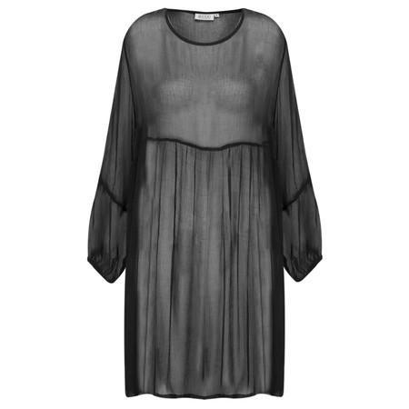 Masai Clothing Gyana Sheer Tunic - Black