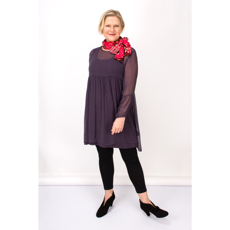 Masai Clothing Gyana Sheer Tunic - Purple