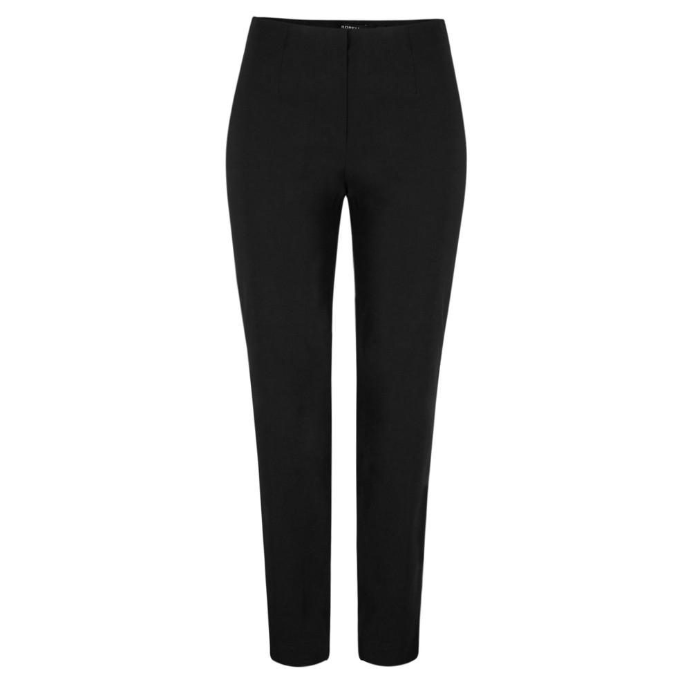Robell Marie Black Bengalin Full Length Trouser Black