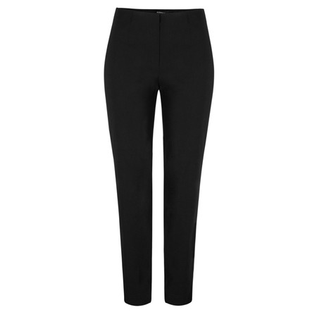 Robell Trousers Marie Bengalin Full Length Trouser - Black