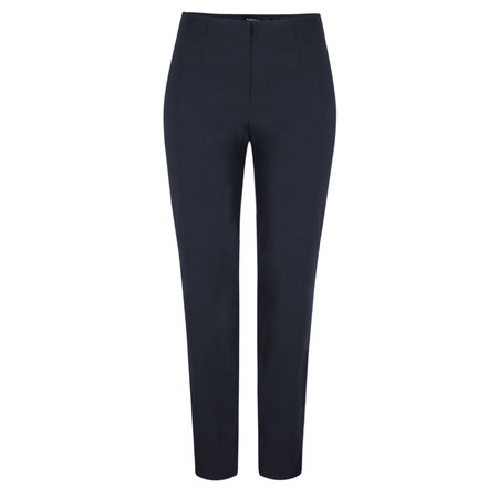 Robell Trousers Marie Bengalin Full Length Trouser - Blue