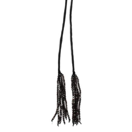 Masai Clothing Anna Necklace - Black