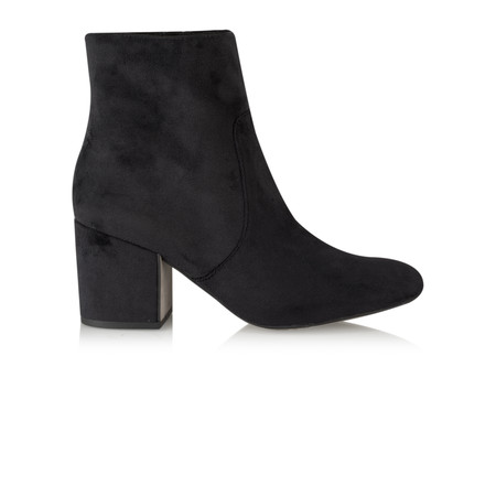 Tamaris  Koo Velvet Ankle Boot - Black