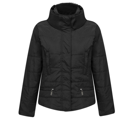 RINO AND PELLE Isara Short Padded Coat - Black