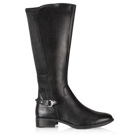 Caprice Footwear Ara Long Leather boot - Black