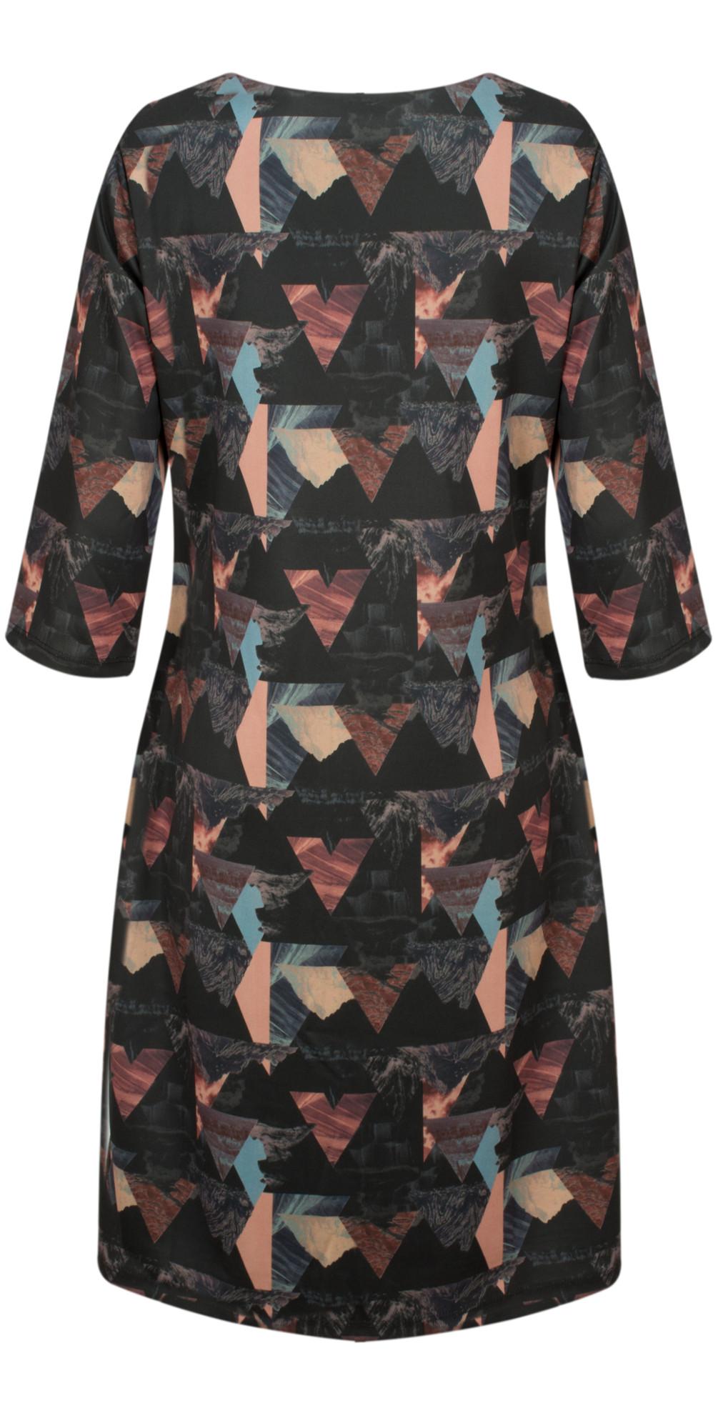 Triangle Print Dress main image