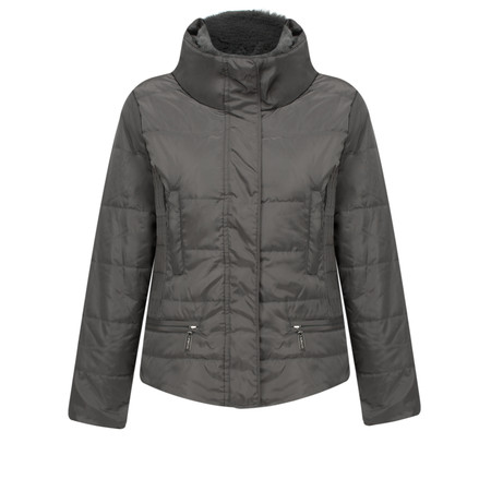 RINO AND PELLE Isara Short Padded Coat - Grey