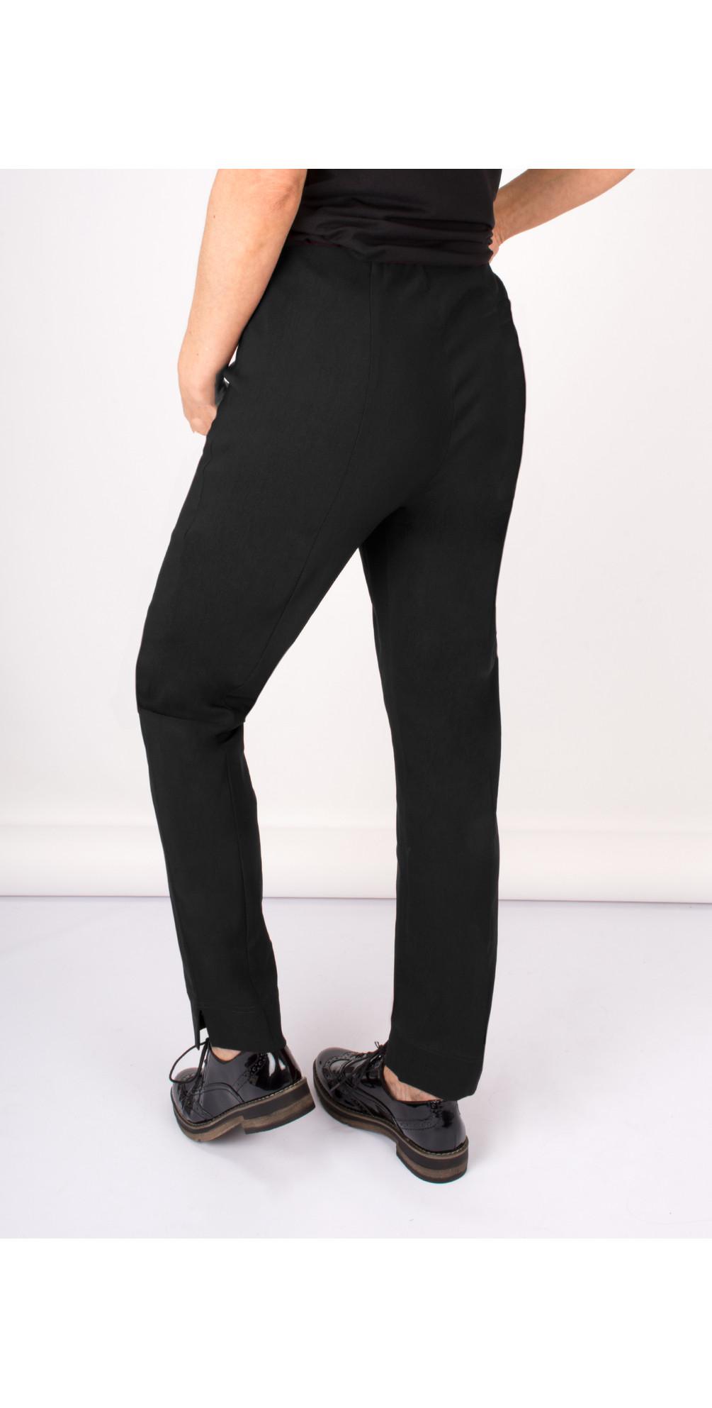 Marie Black Bengalin Full Length Trouser main image