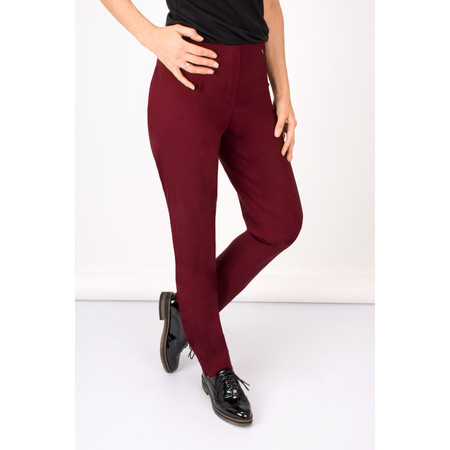 Robell Trousers Marie Bengalin Trouser - Red