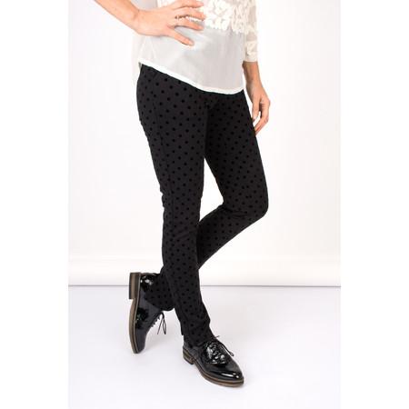 Myrine Freya Dotted Trouser - Black