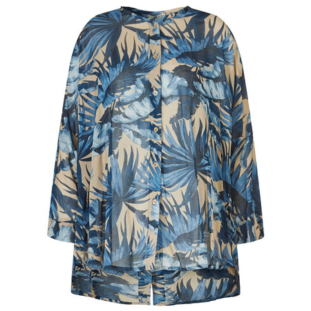 Masai Clothing Inga Blouse - Blue