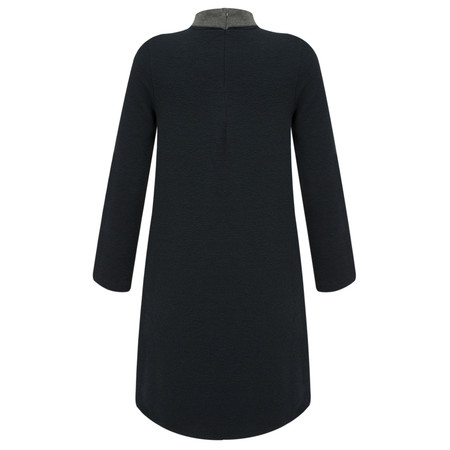 French Connection Ellen Texture Dress - Blue