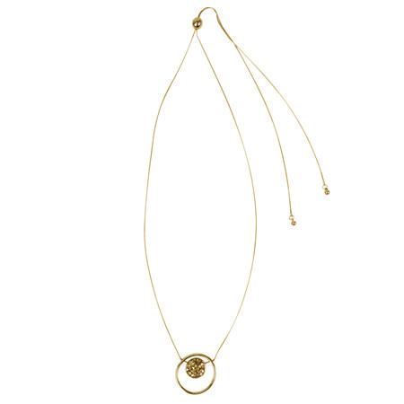Dansk Smykkekunst Samantha Adjustable Necklace - Metallic