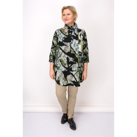 Masai Clothing Artistic Guel Tunic - Green
