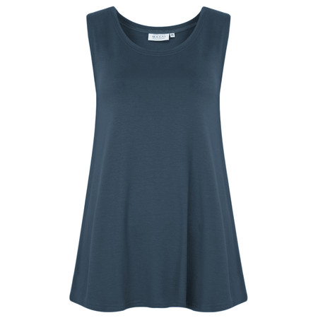 Masai Clothing Elisa Basic Top - Blue