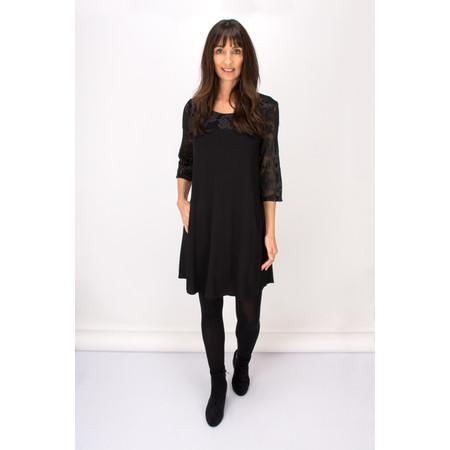 Myrine Kratos Lace Tunic Dress - Black