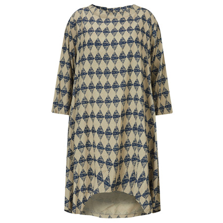 Masai Clothing Diamond Print Gro Tunic - Purple