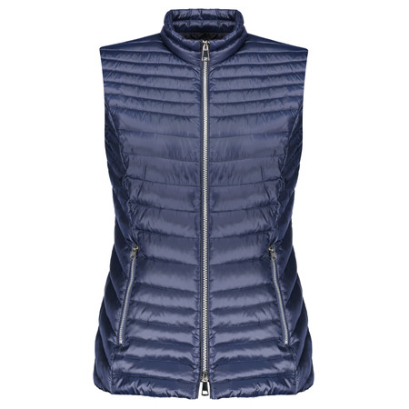 Gerry Weber Quilted Gilet - Blue