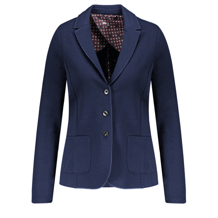 Gerry Weber Textured Blazer - Blue
