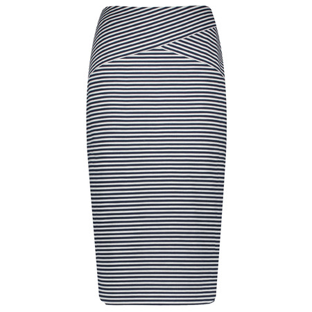 Gerry Weber Striped Pencil Skirt - Blue