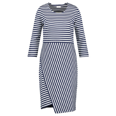 Gerry Weber Striped Dress - Blue