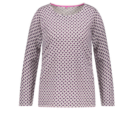 Gerry Weber Geometric Print Jumper - Multicoloured