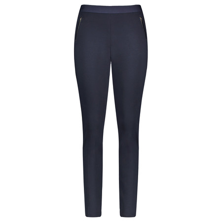 Gerry Weber Cropped Jersey Trousers - Blue