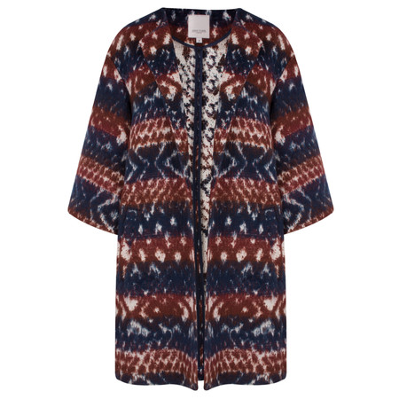 Great Plains Pagan Weave Coat - Red