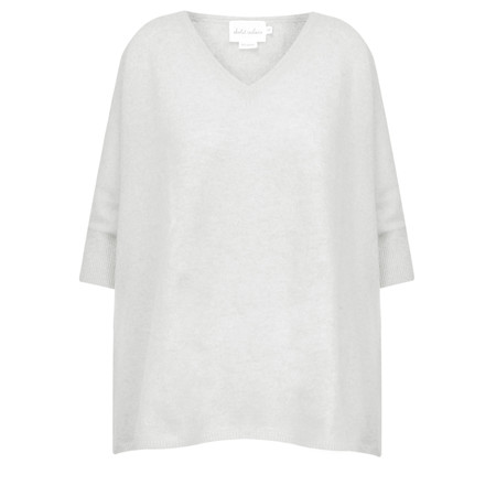 Absolut Cashmere Colette Cashmere V-Neck Jumper - Grey