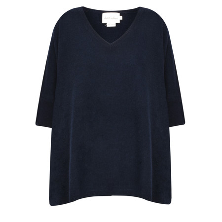Absolut Cashmere Colette Cashmere V-Neck Jumper - Blue