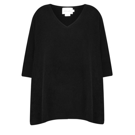 Absolut Cashmere Colette Cashmere V-Neck Jumper - Black