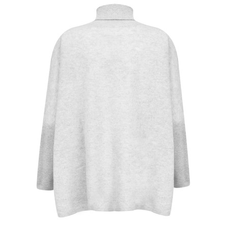 Absolut Cashmere Abella Cashmere Roll Neck Jumper - Grey
