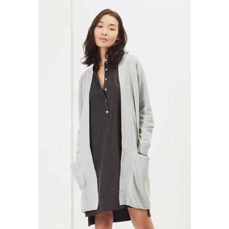 Great Plains Essential Vespa Knit Longline Cardigan  - Grey