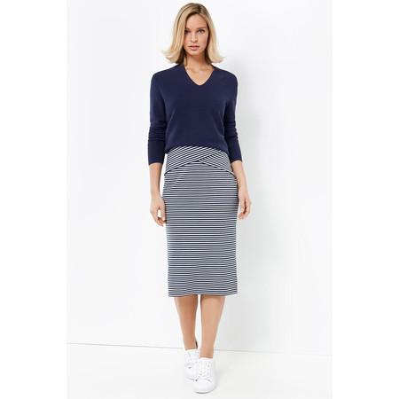 Gerry Weber Striped Pencil Skirt - Blue