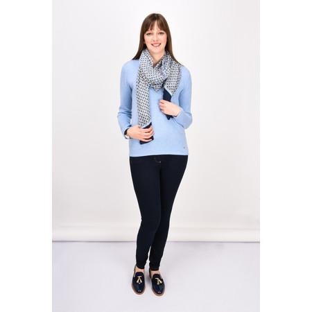 Gerry Weber Yesterday Blooms Soft Knit Jumper - Blue