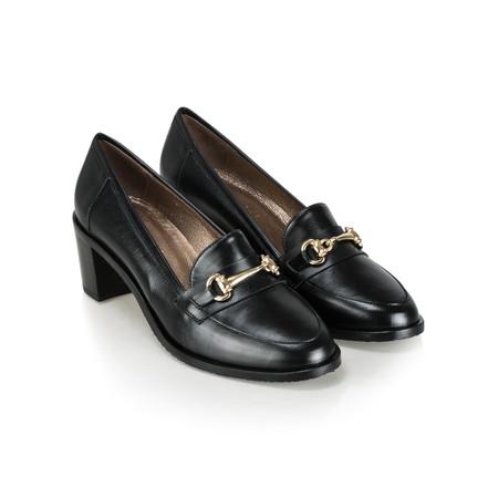 Gemini by GDF Rizardo Heeled Loafer - Black