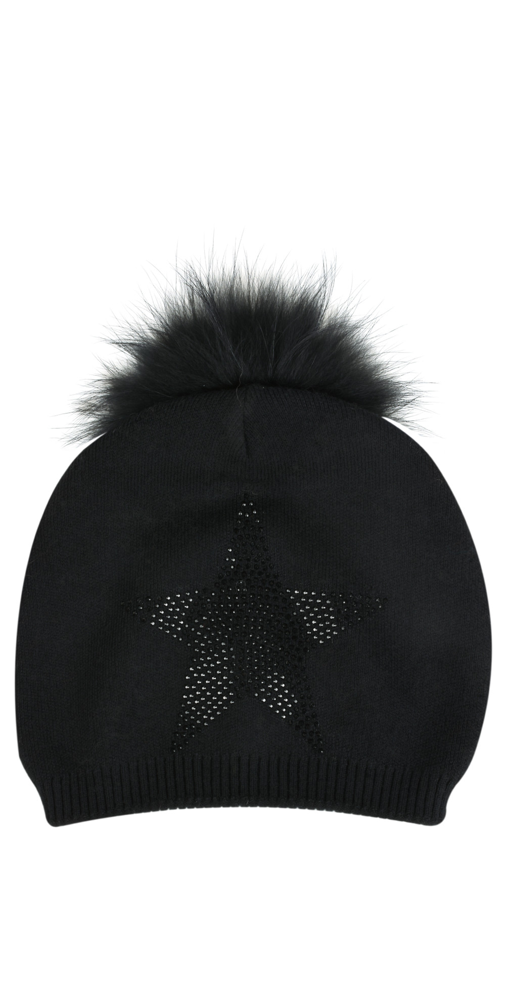 Starr Slouch Beanie with Pom main image