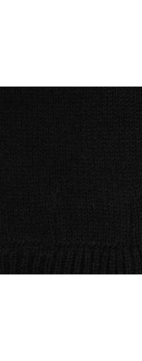 Absolut Cashmere Jolie Cashmere Gloves Noir Black