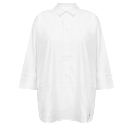 Gerry Weber Oversized Shirt - White