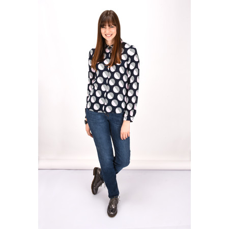 Gerry Weber Spot Print Blouse - Blue