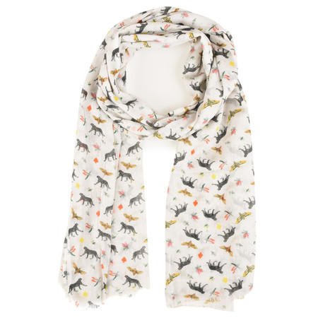 BeckSondergaard Cheshire Wool Scarf - Gray Dawn