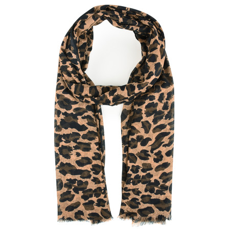 BeckSondergaard Kitty Cotton Scarf - Tannin