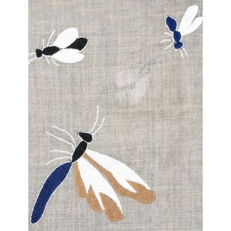 BeckSondergaard Dreamy Wool Scarf - Blue