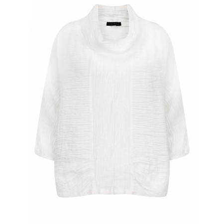 Grizas Kristina Solid Crush Top - White