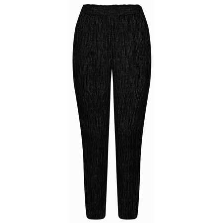 Grizas Rosita Solid Crush Trouser - Black