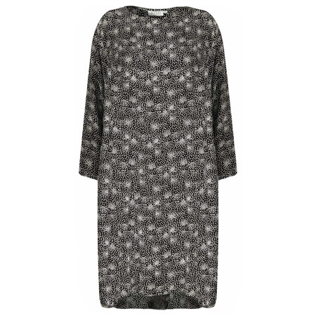 Masai Clothing Nikita Dot Dress - Black
