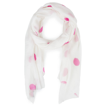 Sandwich Clothing Modal Wool Mix Scarf - White