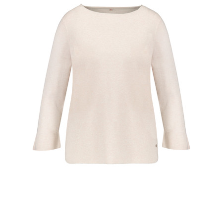 Gerry Weber Fitted Jumper - White